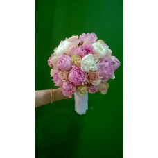 Peony Bridal Bouquet 001