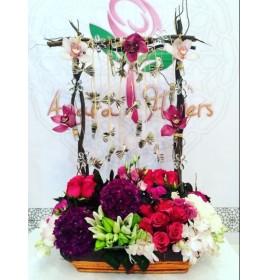 Special Pink Flower Bouquet