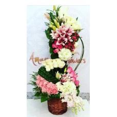Basket Bouquet 001
